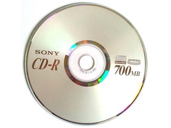 Sony CD-R Supremas 700MB 5st