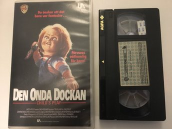 Den Onda Dockan (Child's Play) *Warner Home Video *fd hyr