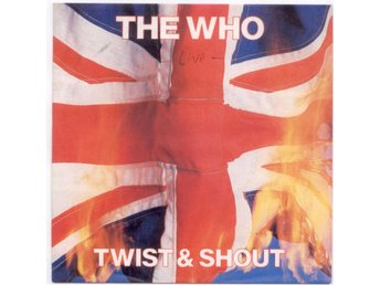"THE WHO - Twist And Shout  7"" Singel  Tyskland"