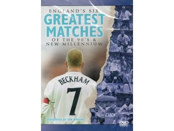 Englands Six Greatest Matches of the 90s & New Millennium (Fotboll VM) - DVD