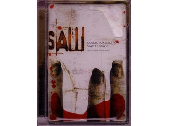 Saw 1 + Saw 2 / Collector's edition dubbel-DVD (Bloodpack)