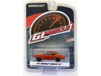 1972 Chevrolet Chevelle SS 1/64 Greenlight orange