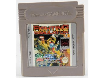 Fighting Simulator: 2-in-1 Flying Warriors - Game Boy