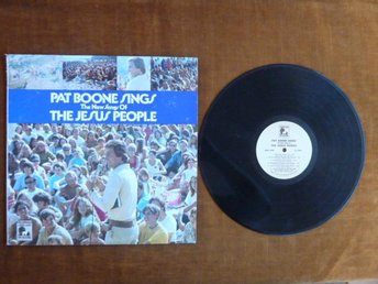 PAT BOONE SINGS,  THE JESUS PEOPLE,   LP, LP-SKIVA