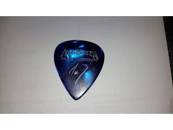 MARKUS GROSSKOPF Guitar pick from his own pocket