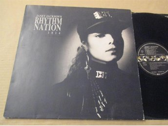 "Janet Jackson ""Rhytm Nations"""