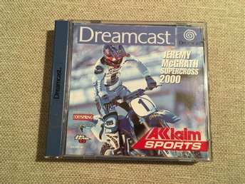 Jeremy McGrath Supercross 2000 - Sega Dreamcast