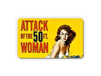 Attack Of The 50 Foot Woman 1958 Magnet Kylskåpsmagnet