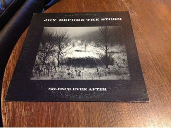 JOY BEFORE THE STORM - SILENCE EVER AFTER - VINYL LP - KANONSKICK!!