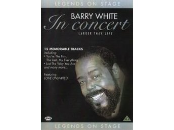 Legends on Stage - Barry White