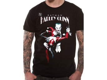 BATMAN - JOKER AND HARLEY QUINN (UNISEX)    T-Shirt - Large