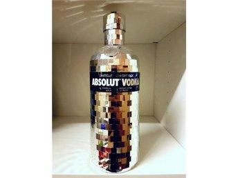 Javascript är inaktiverat. - Sandviken - Absolut Vodka Disco skalet 1 liter. Utan flaska. - Sandviken