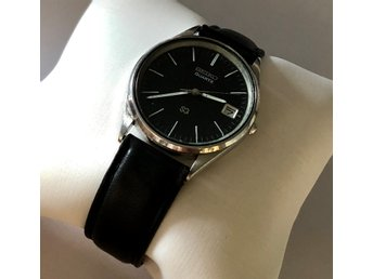 SEIKO QUARTZ Water Resistant JAPAN datumvisare uret 38mm