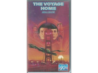 STAR TREK - THE VOYAGE HOME  - VHS ( SVENSKT TEXT )