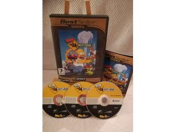 The Simpsons - Hit & Run - Komplett - PC CD-ROM