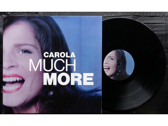 Carola - Much More (LP, Album, Gatefold)