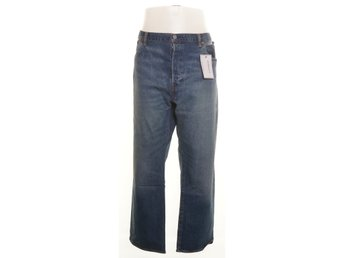 Levi Strauss & Co, Jeans, Strl: 46/32, 501 Button Fly B&T, Blå