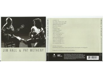 JIM HALL & PAT METHENY (CD 2011)
