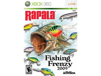 Rapala Fishing Frenzy 2009 - Xbox 360 - Varberg - Rapala Fishing Frenzy 2009 - Xbox 360 - Varberg