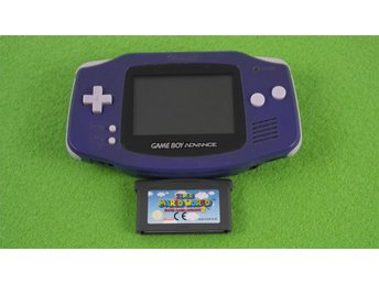 Gameboy Advance Konsol med Mario Advance 2 basenhet