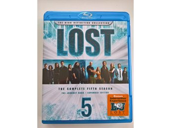 Lost: Säsong 5 (Lost: The Complete Fifth Season) 5-disc, Blu-Ray, Region All