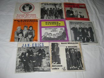 12 SINGLAR-FLAMINGO-SUNES-MOONGLOWS-WICKERS   M.M.