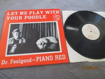 "PIANO ""dr.feelgood"" RED-let me play with ...  US.POODLE 109"