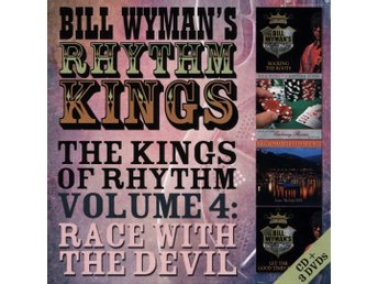 BILL WYMAN-Ny CD+3DVD BOX-Rhythm Kings VOL 4-Race With The Devil-Rolling Stones