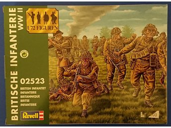 Revell 1/72 British Infantry WWII