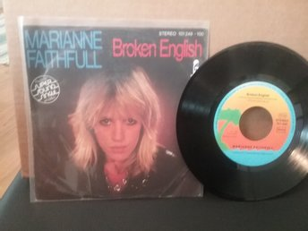 MARIANNE FAITHFUL - BROKEN ENGLISH ( SINGEL)