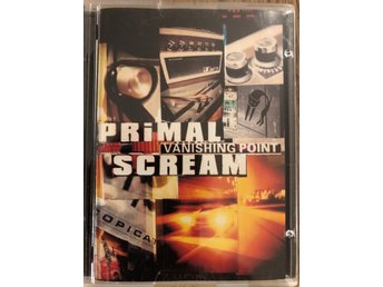 Primal Scream Vanishing Point minidisc