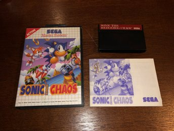 Sonic The Hedgehog Chaos - SMS - Sega Master System
