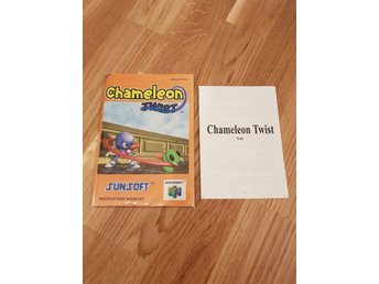 Chameleon Twist Manual