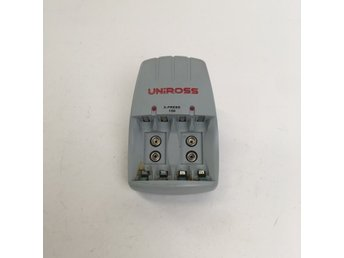 Uniross, Batteriladdare, X-Press 150, Grå/Röd