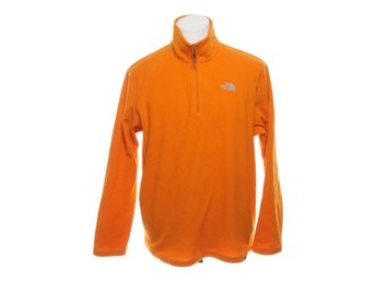 The North Face, Fleecetröja, Strl: L, Orange, Polyester