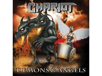 Chariot -Demons and angels CD private pressing 2014 NWOBHM