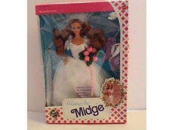 Midge - bröllopsklädd - Barbies bästa vän - ny i förpackning - Kumla - Midge - bröllopsklädd - Barbies bästa vän - ny i förpackning - Kumla