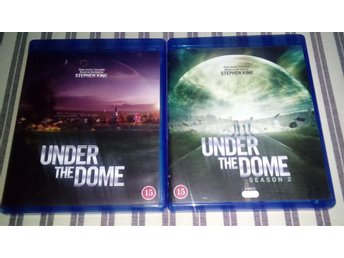 Stephen King: Under The Dome säsong 1-2 (Bluray, Nyskick)