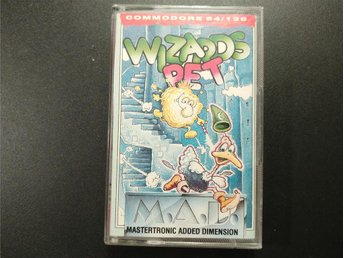 Wizards Pet till Commodore 64 / 128 | C64 | C128 | Mastertronic