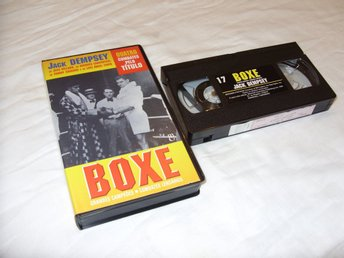 Boxe nr 17 Jack Dempsey vs Jess Willard vs Georges Carpentier VHS Boxning PAL