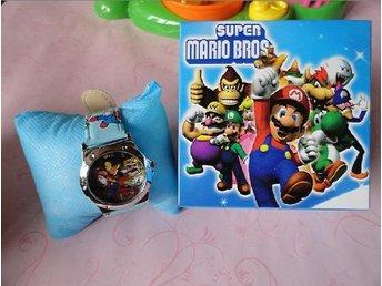 SISTA Super Mario tecknade Armbandsur med låda bäst gåva för barn - Hörby - SISTA Super Mario tecknade Armbandsur med låda bäst gåva för barn - Hörby