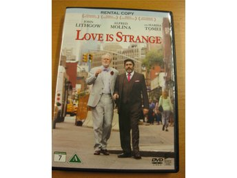 LOVE IS STRANGE - JOHN LITHGOW, ALFRE MOLINA, M TOMEI - DVD 2015