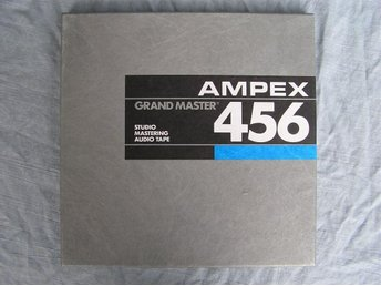 "10.5"" rullband - Ampex Grand Master 456"