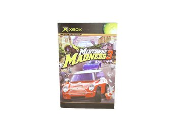 Midtown Madness 3 (Manual Xbox Svensk Text)