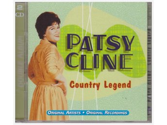 PATSY CLINE    COUNTRY LEGEND     2CD