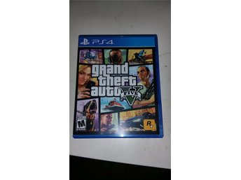 Grand Theft Auto 5 PS4 GTA5 ENDAST FODRAL