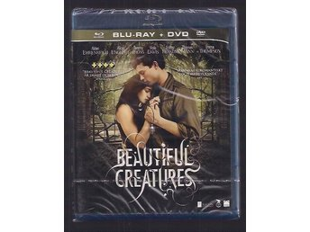 BLURAY + DVD - BEAUTIFUL CREATURES  ny och inplastad