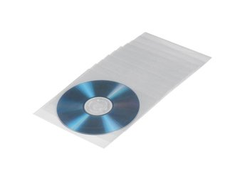 HAMA CD/DVD-ficka Transparent 50-pack