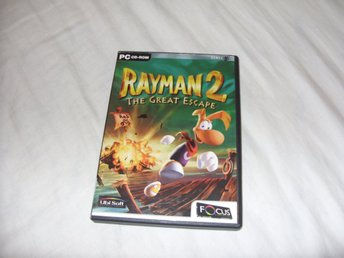 Rayman 2 The Great Escape PC CD ROM spel Engelsk Ubi Soft
