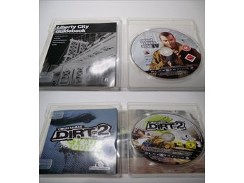 6st PS3 Spel (FIFA 10, NHL 11, GTA 4, Dirt 2, Burnout Paradise, GHero:Metallica)
